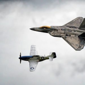 76748856-The+Heritage+Flight+P51D+Mustang+Miss+Helen+and+the+F-22A+Rapto...